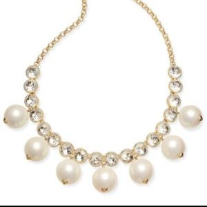 Kate Spade Pearl and Crystal Necklace
